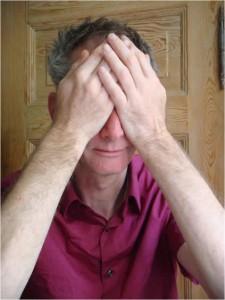 Palmeren van de ogen volgens de dr. bates methode